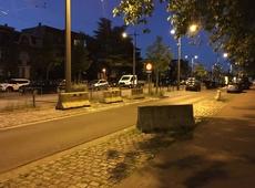 Lelijke betonblokken verdwijnen op de Turnhoutsebaan