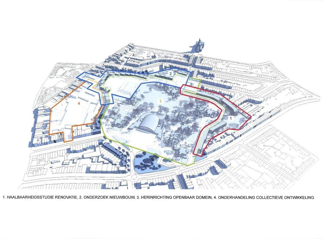 Masterplan Arenawijk, in opmaak (bron: Stad Antwerpen)