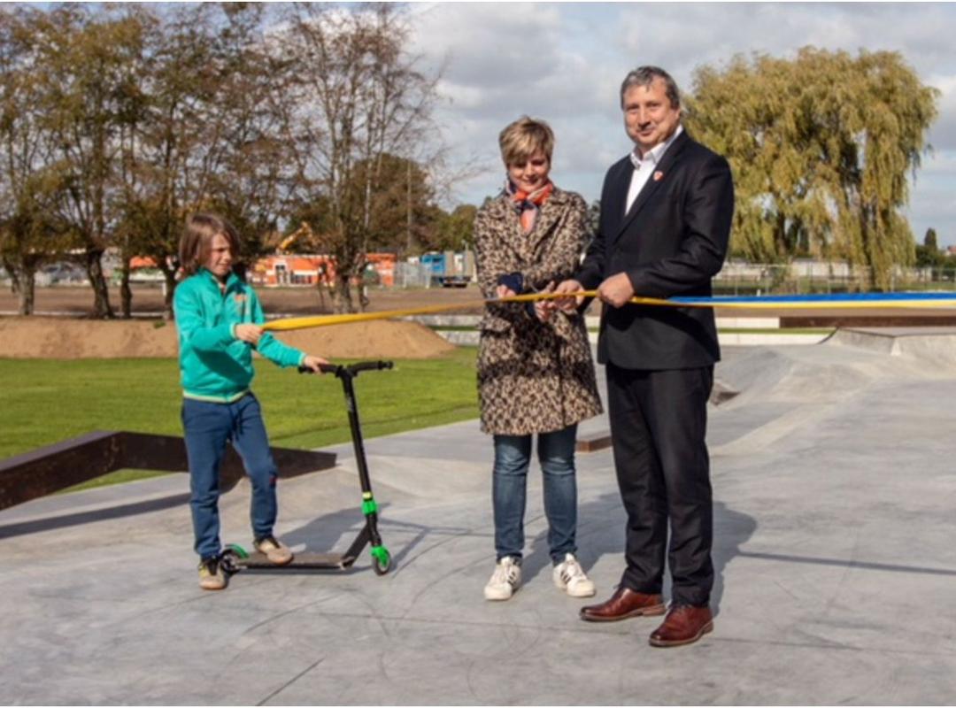 Hagelnieuw skatepark gerealiseerd