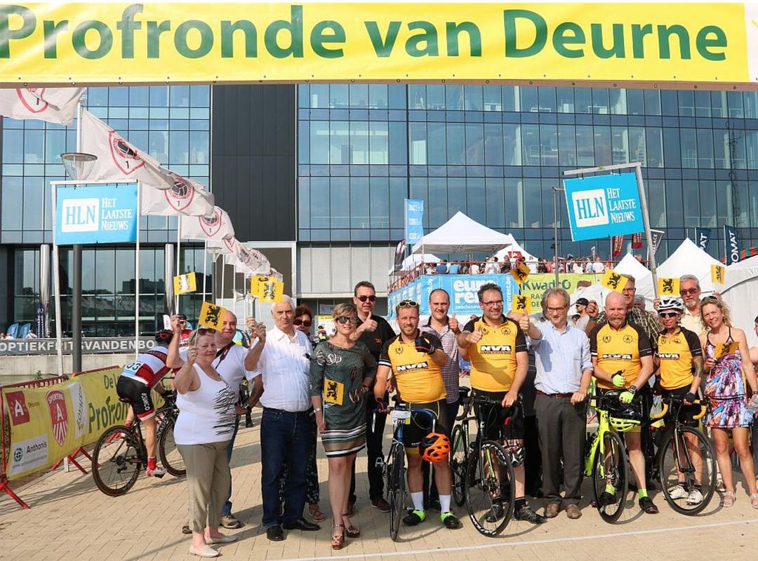Profronde Deurne bedrijvenkoers 'Go 4 Jobs'